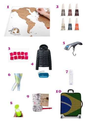 Wishlist - Travel things